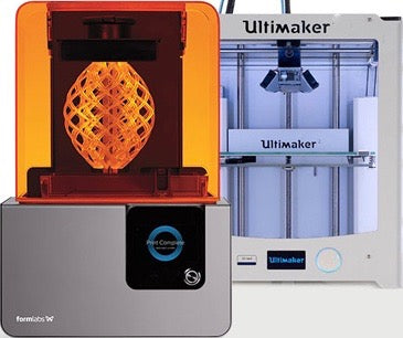 Ultimaker (FDM) + Formlabs (SLA ) 3D Printer Bundle Pack