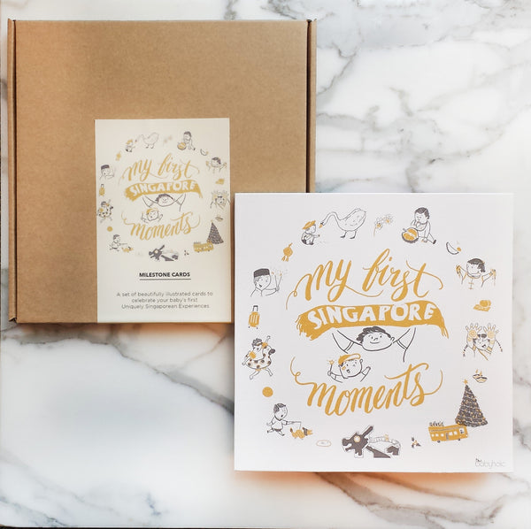 MY FIRST SINGAPOREAN MOMENTS - MILESTONE CARDS