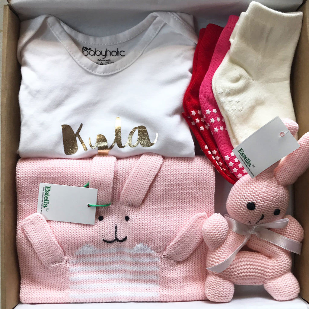 CUSTOMISED NEW BORN BABY GIFT SET