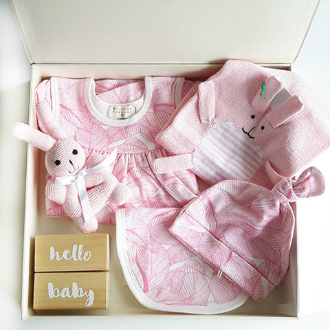 PINK BUNNY BUNDLE SET
