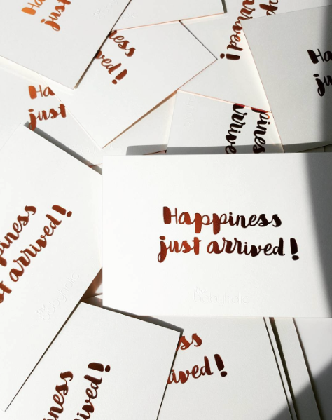 HAPPINESS JUST ARRIVED GIFT CARD
