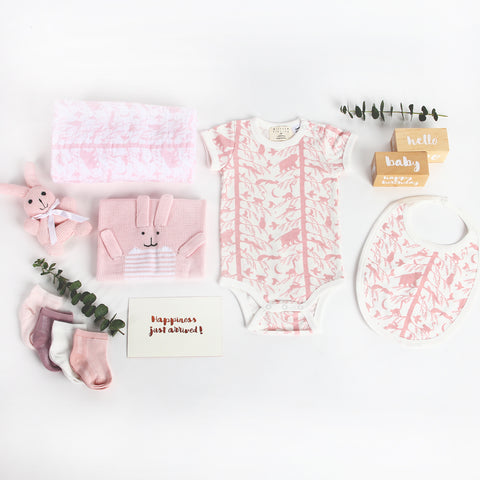 PINK ADVENTURES AWAIT + BUNNY LUXE SET