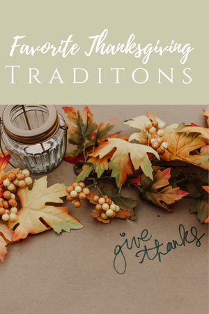 Favorite Thanksgiving Traditions, autumn leaves