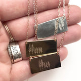 Family Tree Bar Necklace || We are Family!