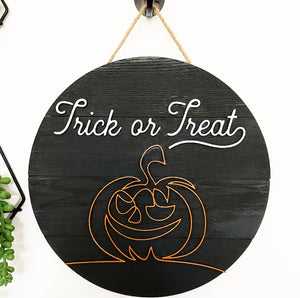 Halloween Home Decor Signs