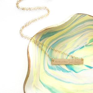 Raising Sunshine™ Bar Necklace