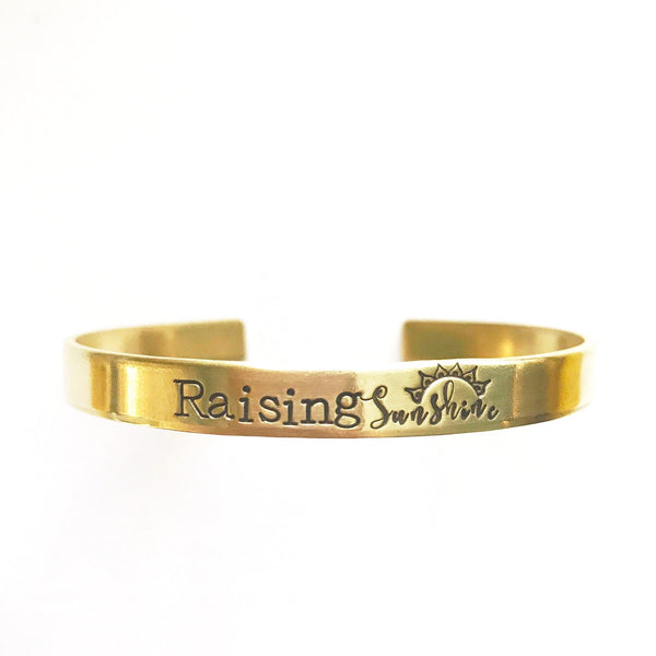 Raising Sunshine Cuffs