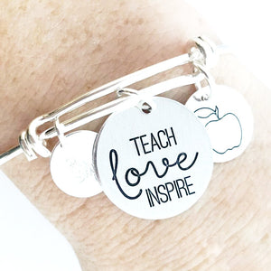 Teach Love Inspire Bangle