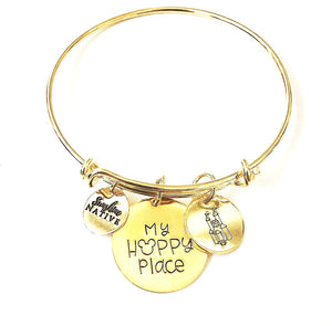 My Happy Place Bangle