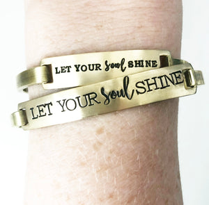 Let your Soul Shine Bangle