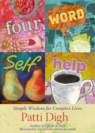Four Word Self Help - signed copy