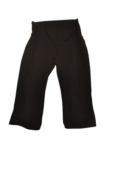 Black Active Capri Pants by Motherhood