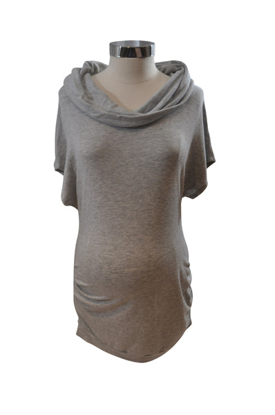 Gray Short Sleeve Top by A Pea In The Pod