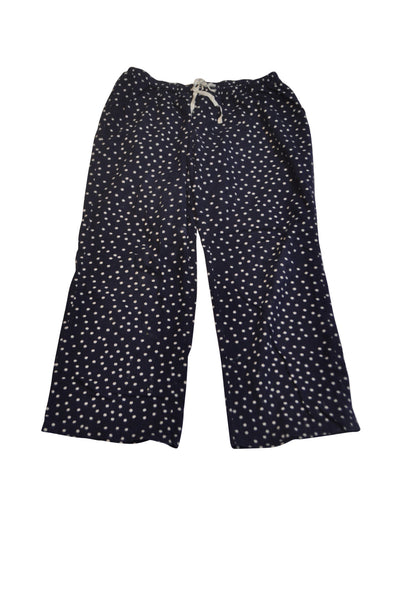 Blue & White Polka Dot Pajama Pants by Bump In The Night