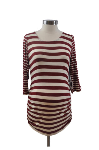 Red & Cream Stripe Top by Jessica Simpson *New With Tags*