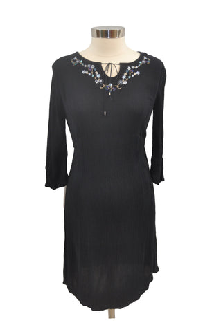 Black Casual Elbow Sleeve Dress by Motherhood