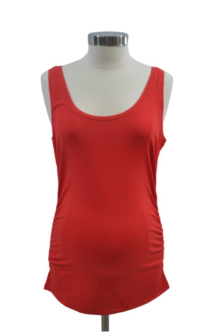 Red Scoop Neck Tank Top by Motherhood *New With Tags*