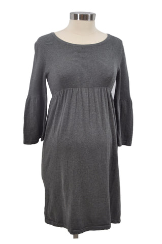 Gray Long Sleeve Dress by OH BABY!