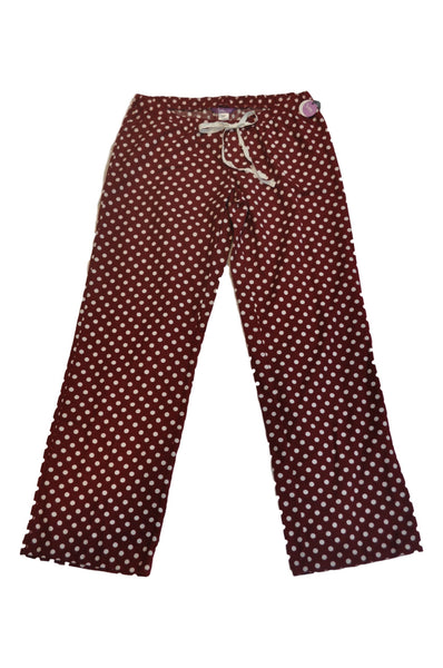 Red & White Polka Dot Pajama Pants by Bump In The Night *New With Tags*