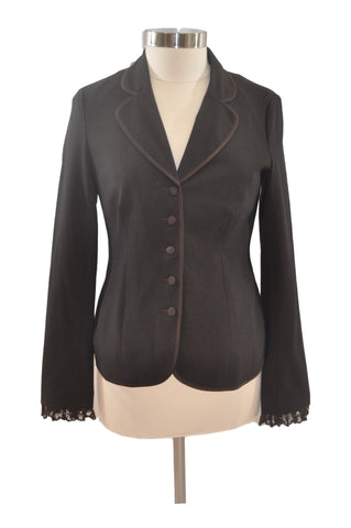 Brown Blazer Suit Separate by Motherhood