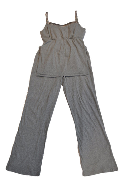 Gray 3-Piece Pajama Set by Motherhood