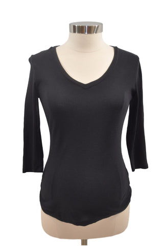 Black Long Sleeve Top by OH BABY!