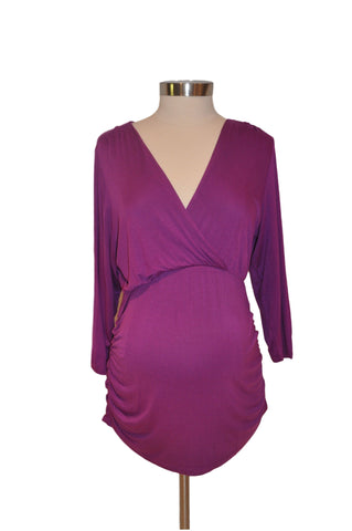 Purple Long Sleeve Top by Motherhood *New With Tags*