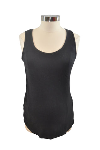 Black Ribbed Tank Top by Motherhood