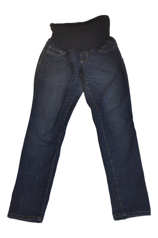 Blue Secret Fit Belly Jeans by OH BABY!