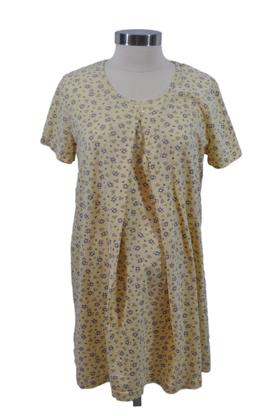 Yellow Short Sleeve Nightgown by OH BABY!