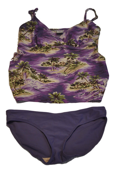 Purple 2-Piece Swimsuit by Old Navy