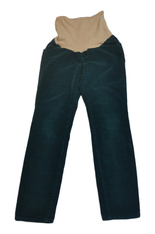 Green Corduroy Pants by Motherhood