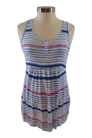 Blue White & Red Tank Top by Old Navy