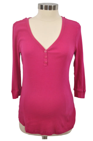 Pink Elbow Sleeve Top by Old Navy