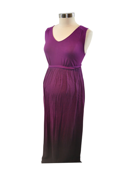 Purple Maxi Dress by Liz Lange
