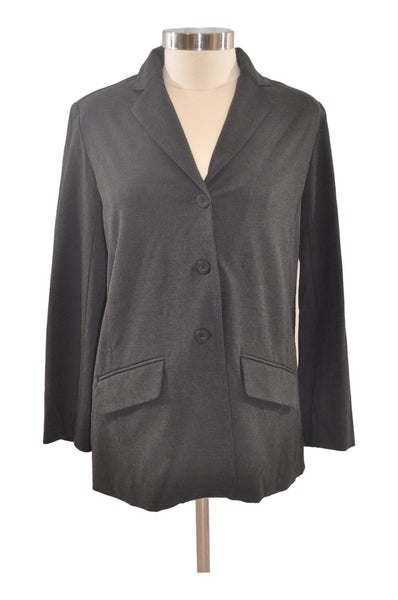Charcoal Gray Long Sleeve Blazer by Mame Maternity