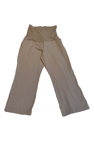 Khaki Cropped Pants by Motherhood*