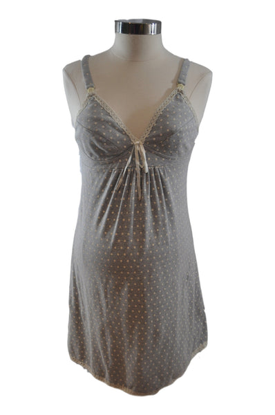 Gray Nursing Nightgown*
