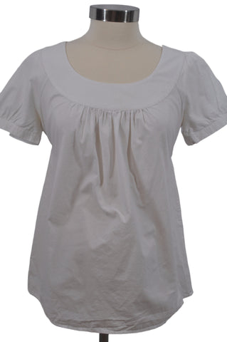White Short Sleeve Top by OH BABY!*