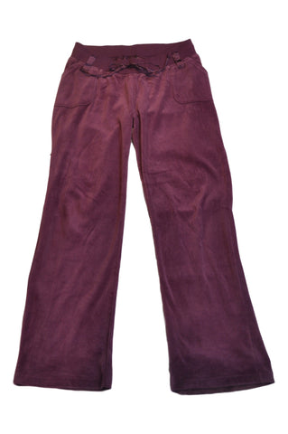 Purple Velour Sweatpants by Liz Lange