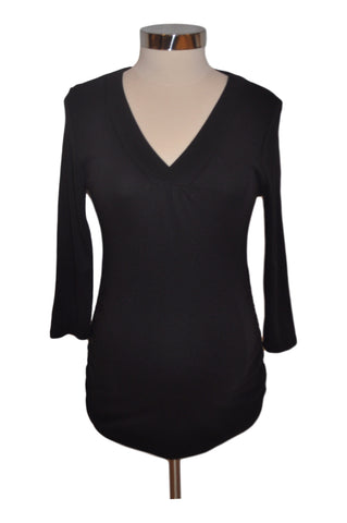 Black Long Sleeve Top by OH BABY! *New With Tags*