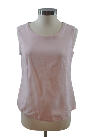 Pink Textured Sleeveless Top by Mimi Maternity
