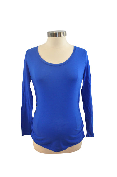 Blue Long Sleeve T-Shirt by Liz Lange