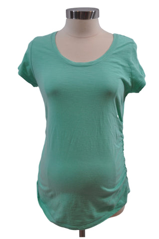 Aqua Short Sleeve T-Shirt by Liz Lange*