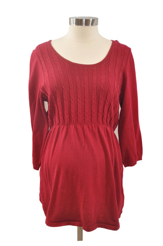 Red Elbow Sleeve Sweater by OH BABY! *New With Tags*