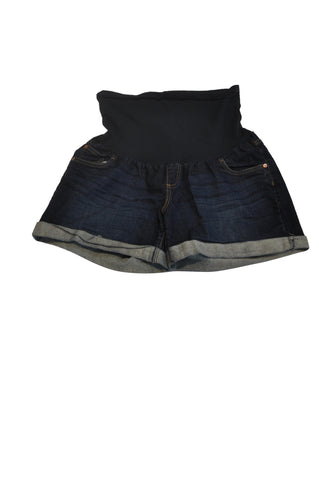 Dark Blue Jean Shorts by Indigo Blue
