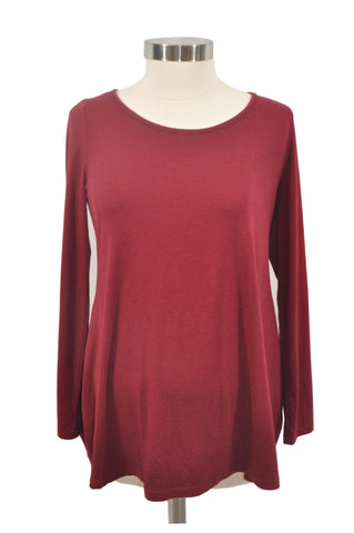 Maroon Long Sleeve Top by Old Navy