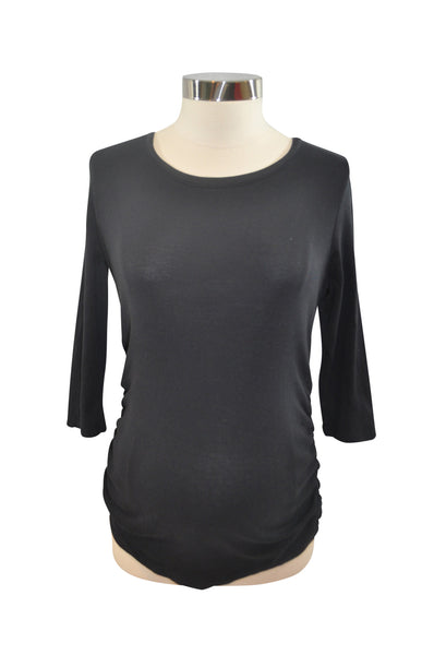 Black Elbow Sleeve T-Shirt by Motherhood