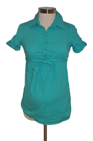 Green Short Sleeve Top by Old Navy