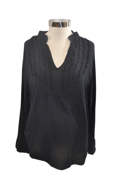 Navy Blue Long Sleeve Blouse by GAP